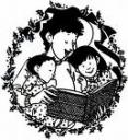 Picture of a Mother reading to her children