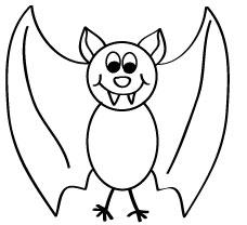 halloween activities bat - Halloween Images To Draw
