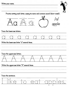 Printables Kindergarten Handwriting Worksheets Free handwriting worksheets proper letter formation free worksheets