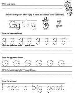 Printables Letter Handwriting Worksheets handwriting worksheets proper letter formation worksheet g handwriting