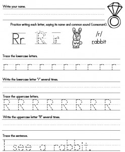 Printable Handwriting Worksheets - Sight Words, Reading ...