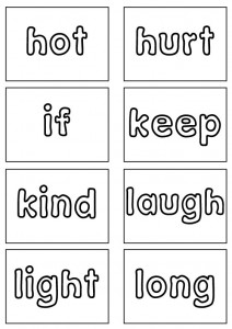Dolch Sight Words Flash Cards Third Grade Sight Words Reading