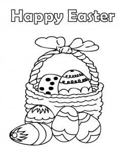 Easter Coloring Pages for Kids - Sight Words, Reading ...