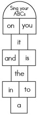 Sight word games hopscotch sight words reading writing there ibookread Download