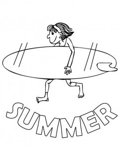 Summer Activities - Reading lists, Coloring pages & Fun Games