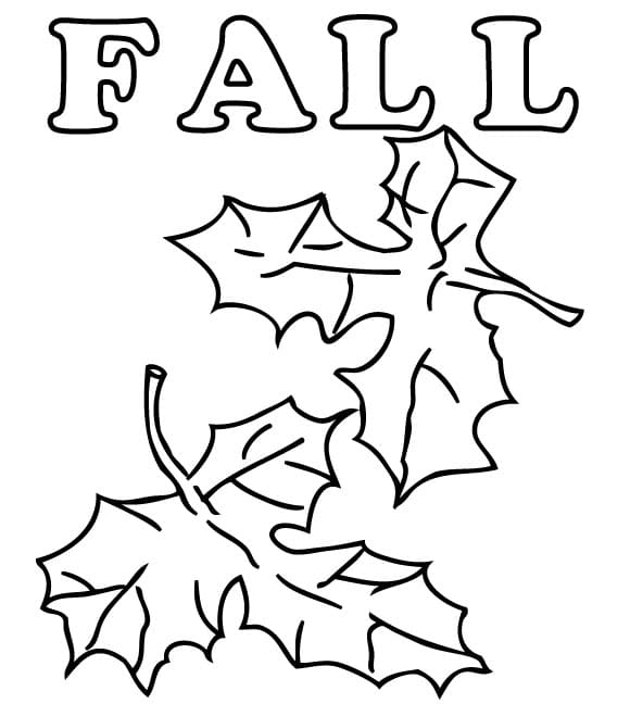 coloring pages fall themed - photo#45