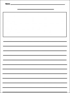 Legal Studies first grade writing paper templates