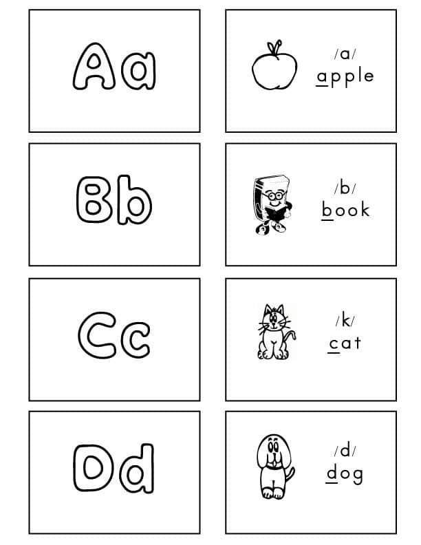 Alphabet-Flash-Cards-Bubble-Font