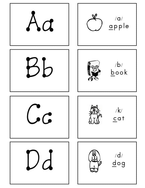 Alphabet-Flash-Cards-Bulletin-Font