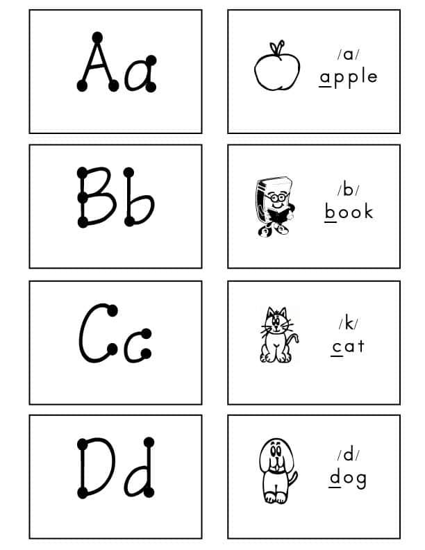 Alphabet-Flash-Cards-Bulletin-Font