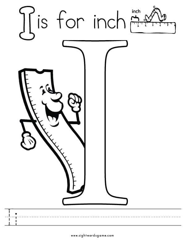Letter-I-Coloring-Page-2