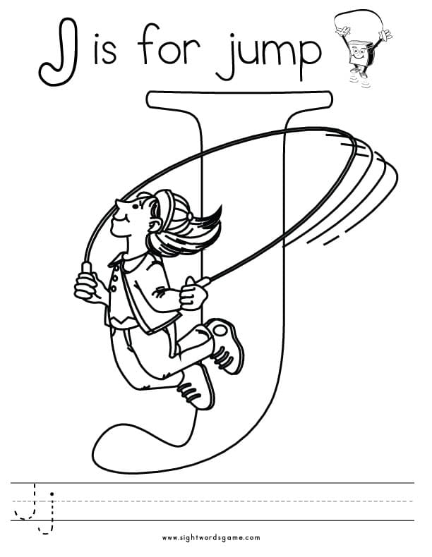 j coloring pages - photo #21