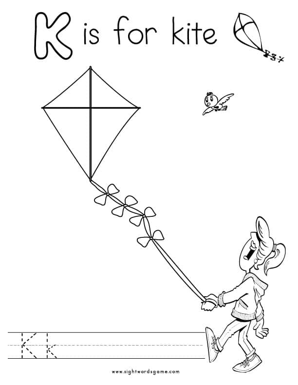 k coloring pages - photo #27