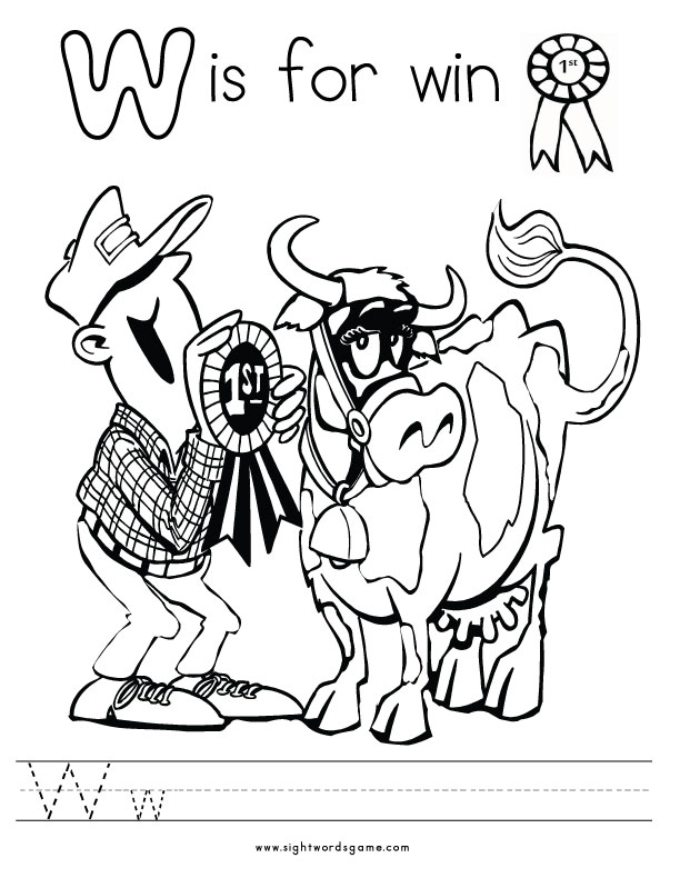 Letter-W-Coloring-Page-1