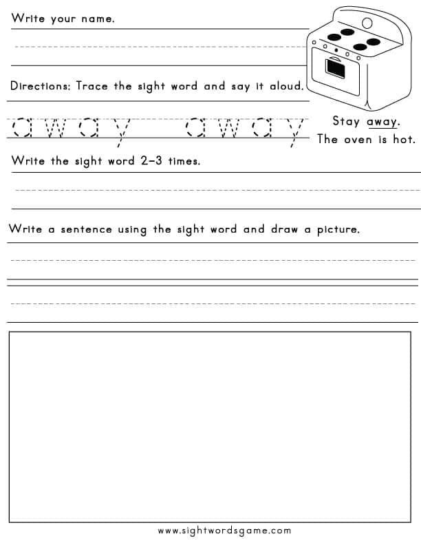 photo about Free Printable Sight Word Activities identified as Printable Sight Phrase Worksheets - Sight Terms, Looking through