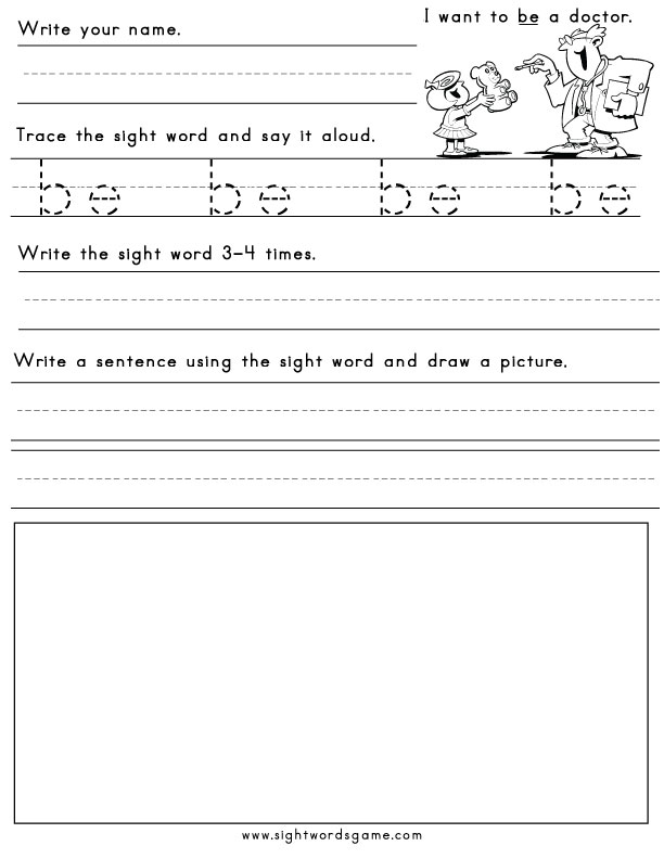 Sight Words/Comprehension Activity - LiveBinder
