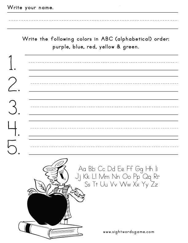 color worksheet word Pictures word red  worksheet red Related sight