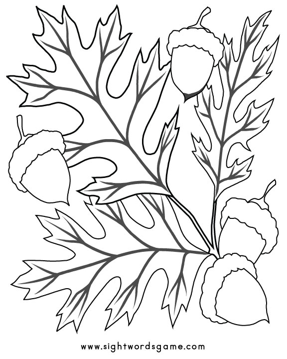 coloring pages for fall - photo#17